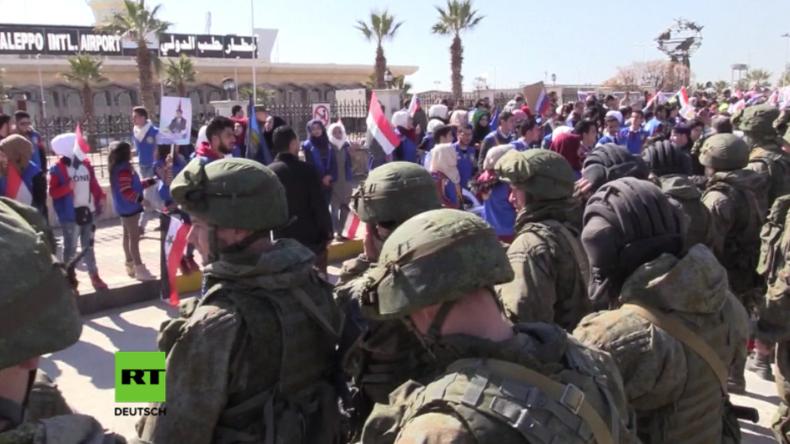 Aleppo dankt Russland für Entminung – Abschiedszeremonie für russische Pioniere