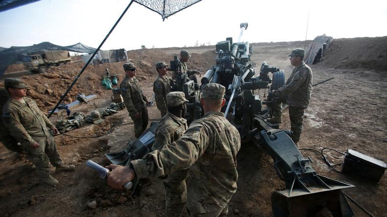 """""""Nur für Ausbildungszwecke"""" - US-Kampftruppen im Irak an vorderster Front in Mossul"""