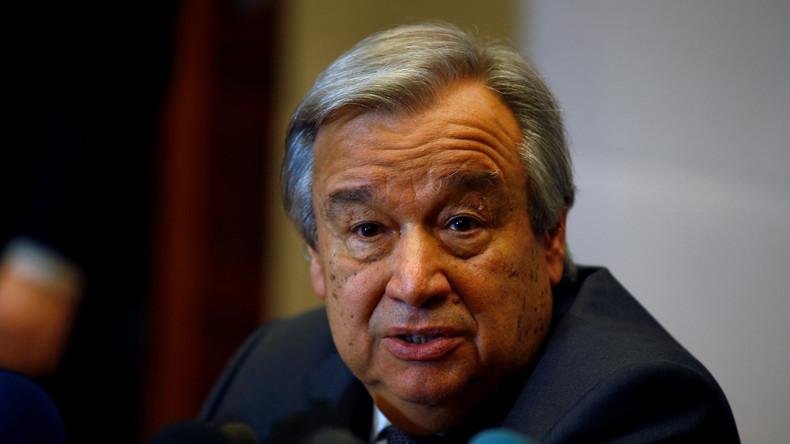 UN-Generalsekretär António Guterres will eine separate Antiterrorbehörde schaffen