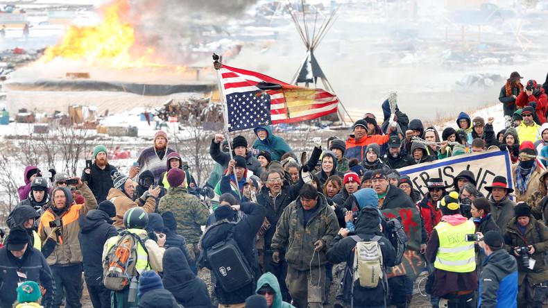US-Polizei nimmt neun Erdölpipeline-Gegner fest