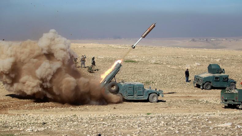Irakische Militärs starten Offensive gegen Flughafen Mossul