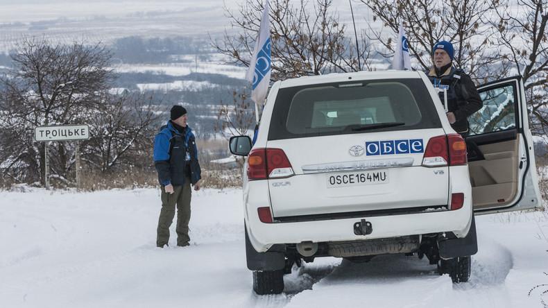 OSZE will Beobachtermission in der Ukraine aufstocken