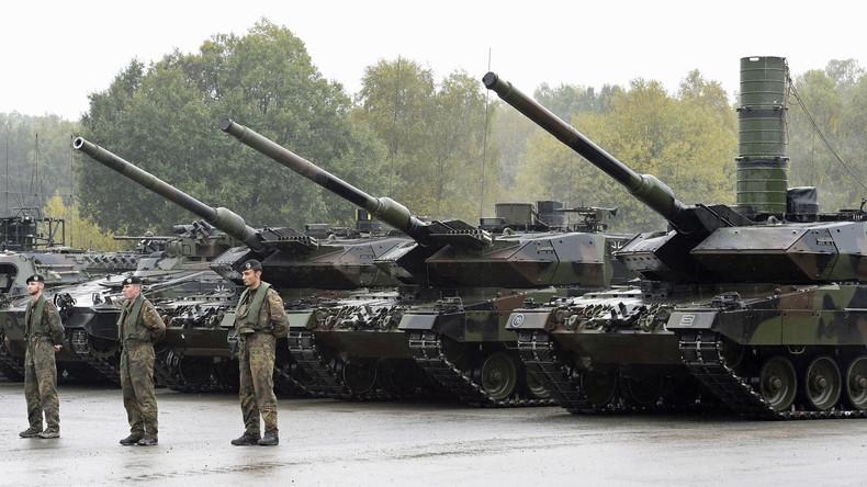 Sicherheit braucht Feinde: Deutschland im Rüstungsfieber