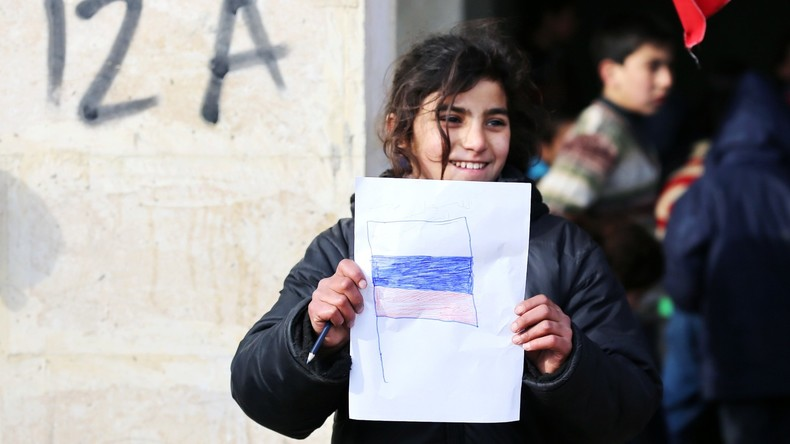 Rund 3.300 Syrer bekommen humanitäre Hilfe aus Russland