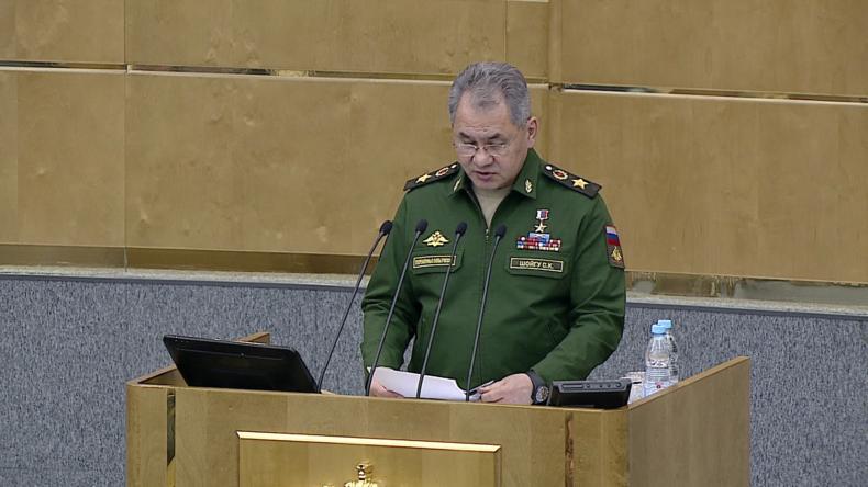 Russischer Verteidigungsminister hält Regime-Change in Syrien für gescheitert.