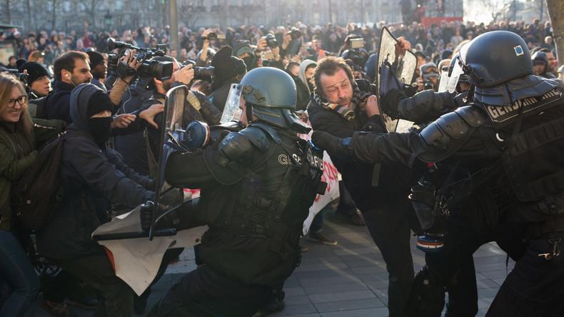 Erneute Proteste gegen Polizeigewalt in Frankreich