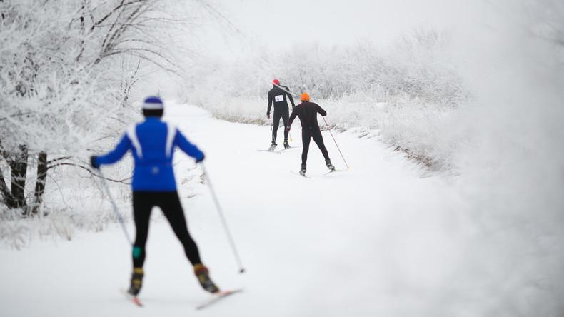 Venezolanischer Skiläufer hat die WM-Strecke nicht geschafft