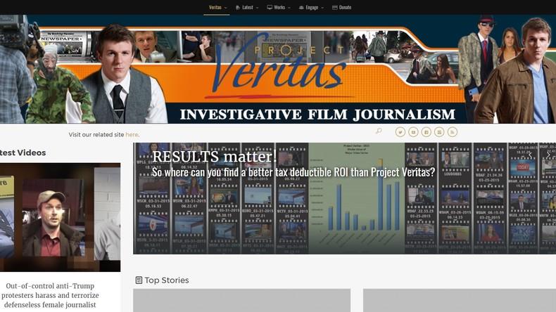 Project Veritas: US-Journalist veröffentlicht kompromittierendes Material über CNN