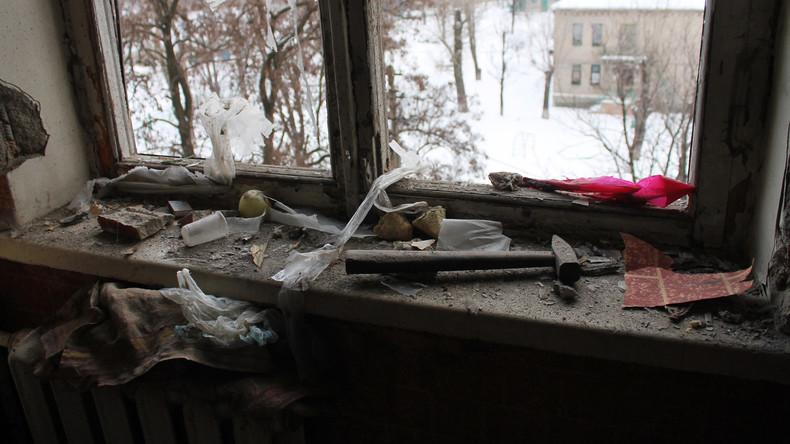UNO schickt Hilfskonvoi aus 23 Trucks in den Donbass