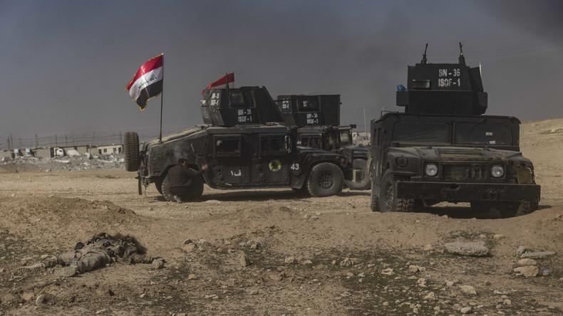 Irakische Militärs bestätigen Einnahme des Flughafens von Mossul