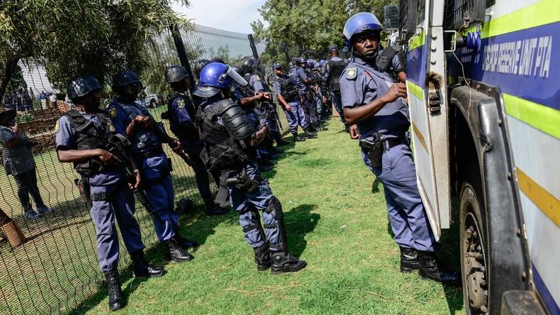 Südafrika: Protestler wollen alle Ausländer vertreiben