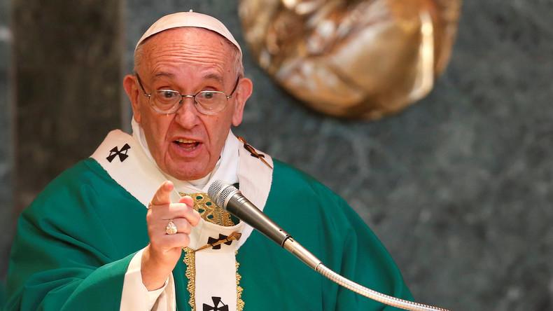 """Papst Franziskus: """"Besser Atheist zu sein als ein heuchlerischer Katholik!"""""""