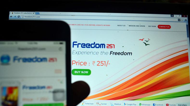 Handys für 4 US-Dollar erweisen sich als Betrug: Indische Polizei verhaftet Firmengründer