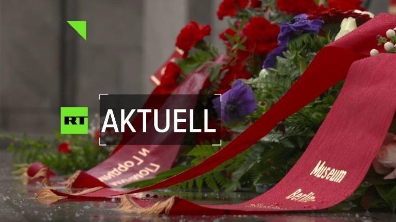 """Der """"russischen Aggression"""" in Deutschland auf der Spur: Ein Besuch in der russischen Botschaft"""