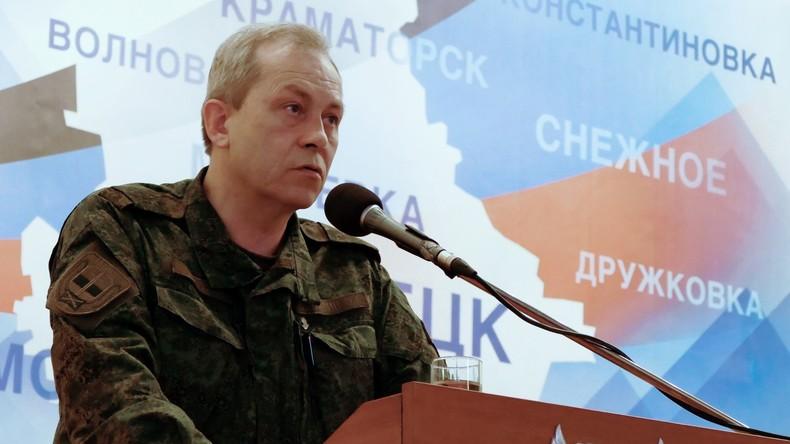 Ukrainische Extremisten sollen Objekte der Donezker Wasserfilterstation eingenommen haben