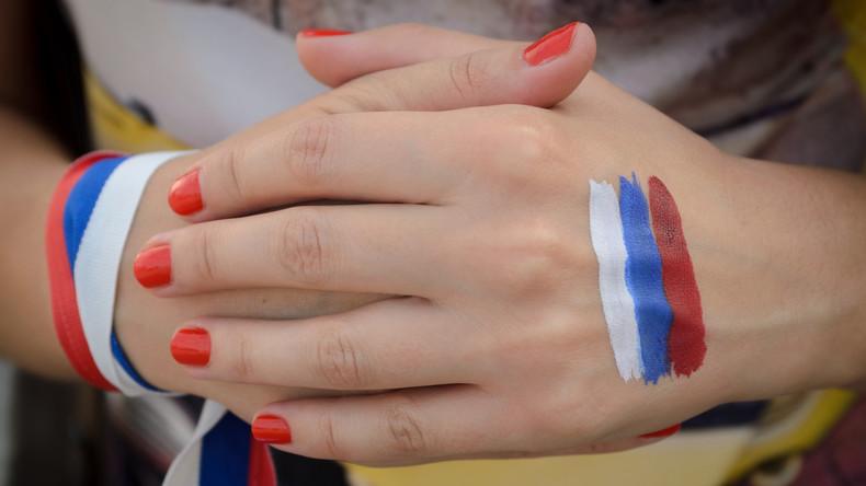 Aktivisten wollten Donald Trump mit russischen Flaggen provozieren