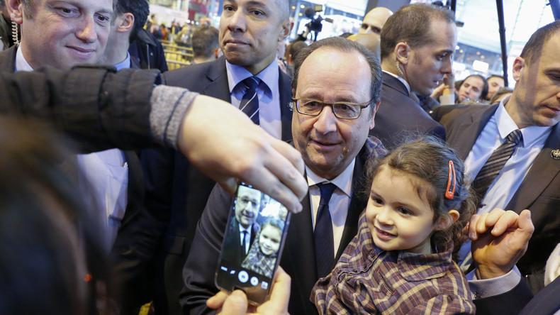 François Hollande kritisiert Donald Trumps Misstrauen gegenüber Frankreich