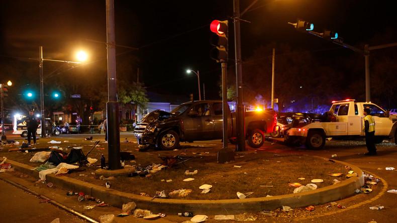 New Orleans: Auto rast in Menschenmenge und verletzt 28 Menschen