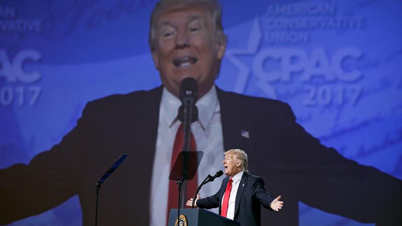 Donald Trump sagt seine Teilnahme am alljährlichen Dinner mit Journalisten im Weißen Haus ab