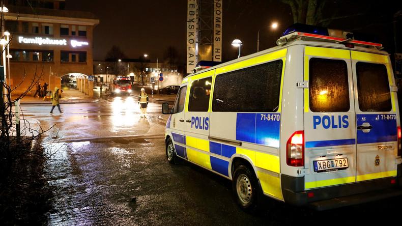 Schweden: 20 Menschen erleiden Verletzungen bei Brand in Flüchtlingsheim
