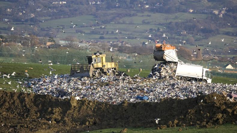In Großbritannien wird Müll an Gemüse serviert: Illegale Müllentsorgung auf britischen Feldern