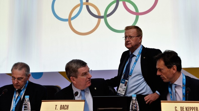 IOC-Chef Thomas Bach in Sotschi 2014