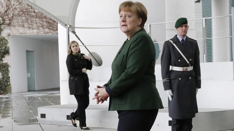 Angela Merkel im Kanzleramt