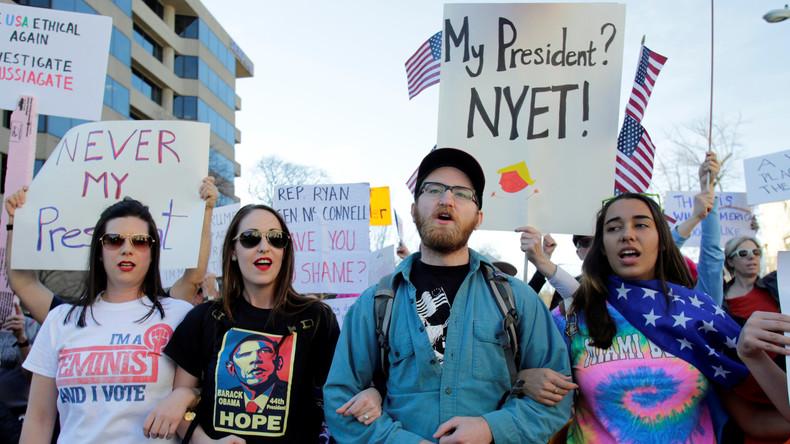 Nach Wahlniederlage: Gut organisierte Wut gegen Trump wächst