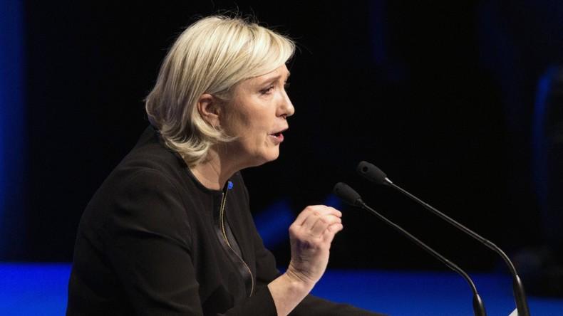 Frankreich vor den Wahlen: Gewalt und Chaos bei Protest gegen Marine Le Pen