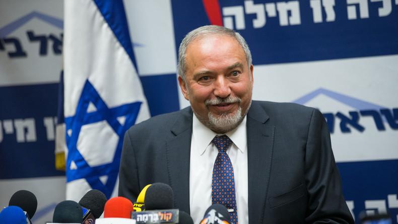 Israels Verteidigungsminister Avigdor Lieberman
