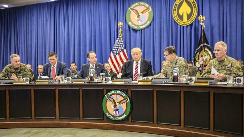"Trump erhöht massiv US-Rüstungsbudget: ""Zum Aufbau unseres erschöpften Militärs"""