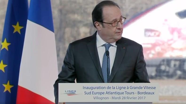 Frankreich: Scharfschütze eröffnet Feuer während Rede von Präsident Hollande – Zwei Verletzte