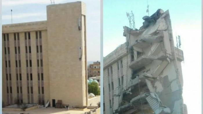 US-geführte Anti-IS-Koalition bombardiert medizinischen Hauptsitz des Roten Halbmondes in Syrien