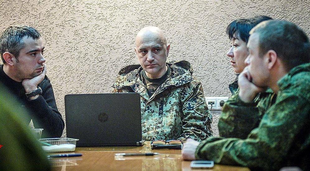 Kampf mit Bajonett und Feder: Dichter Sachar Prilepin wird Politkommissar im Donbass