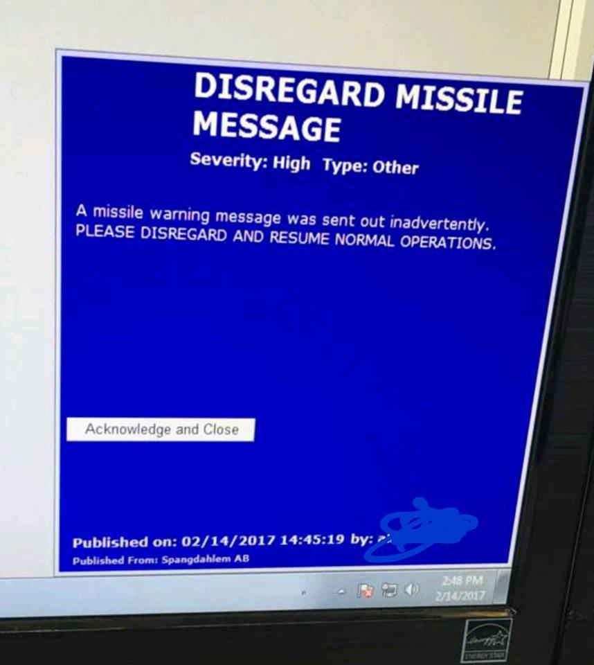 """""""Inbound Missile"""": Air-Base-Monitore melden Raketenangriff auf US-Stützpunkt in Rheinland-Pfalz"""
