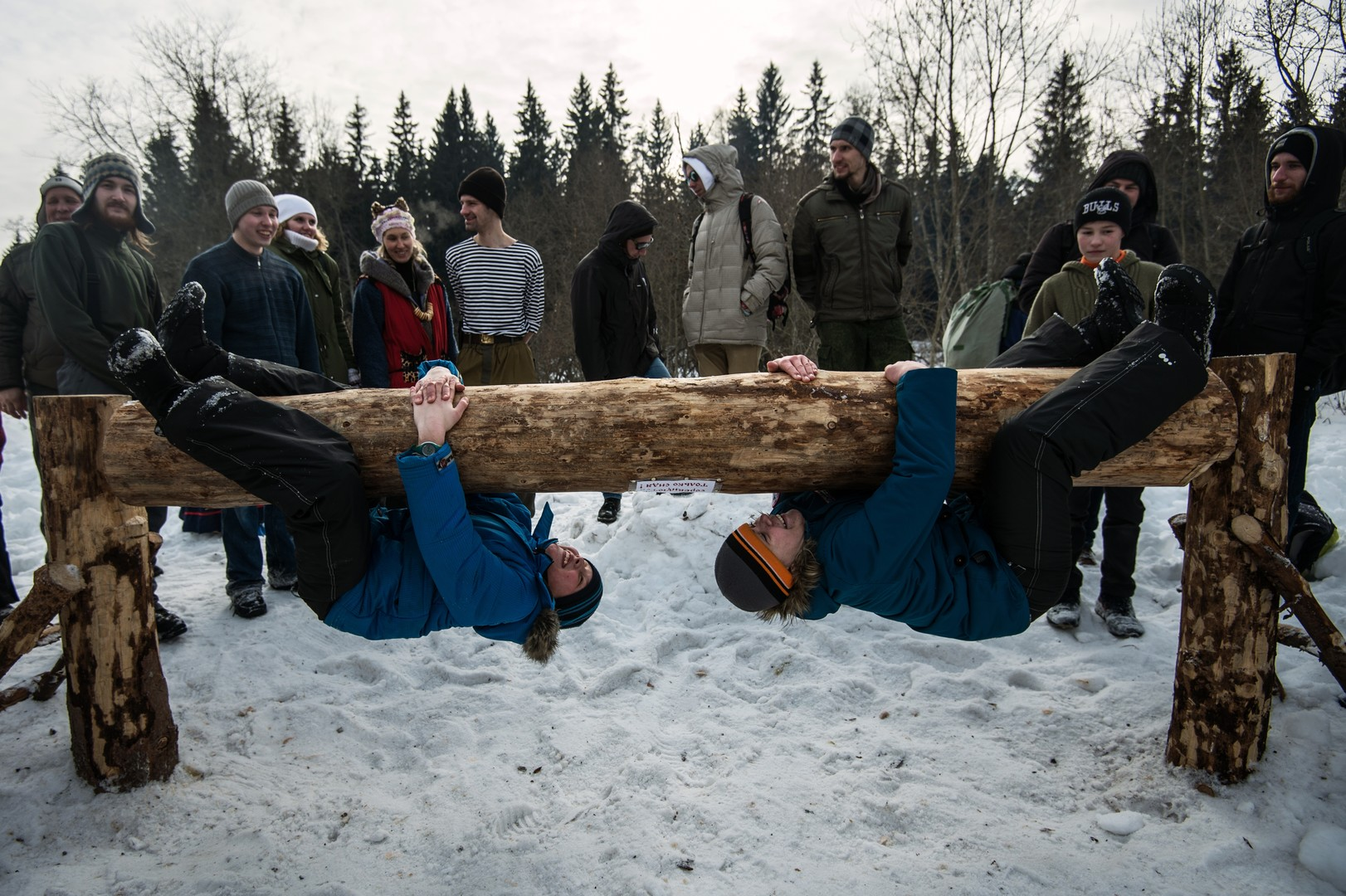 Alle sind willkommen, ihre Stärke unter Beweis zu stellen. Gebiet Moskau