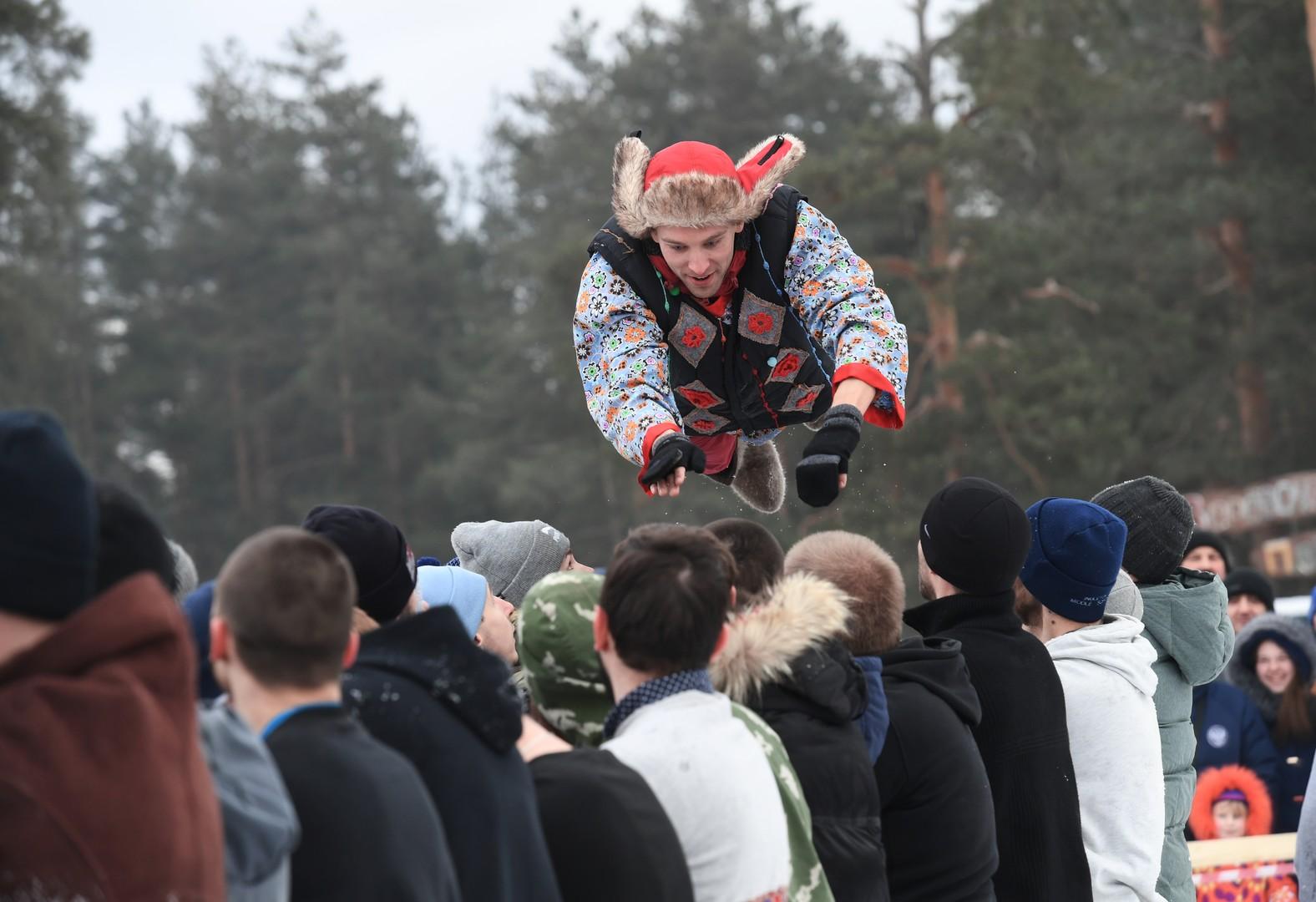 Volksfeste beflügeln. Wladimir