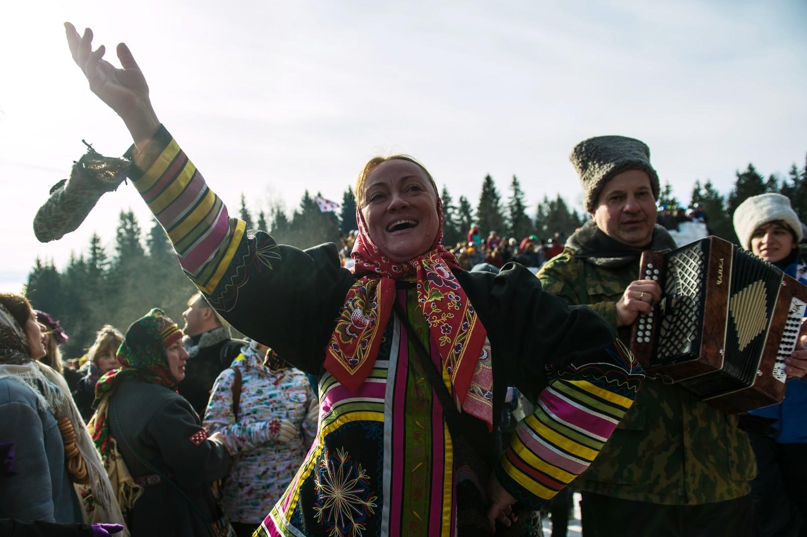 Ohne Musik geht's nicht. Gebiet Moskau