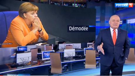 """Russischer Star-Moderator: """"Merkel ist aus der Mode gekommen"""" - Springerpresse tobt"""