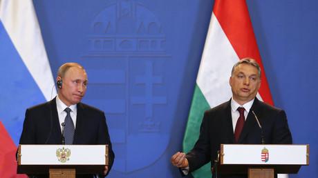 Viktor Orban ist die Konfrontationspolitik der EU gegenüber der Russischen Föderation schon seit Längerem ein Dorn im Auge.