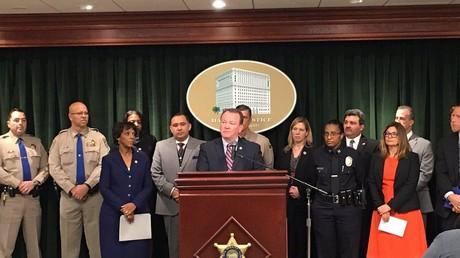 Ermittlungserfolg: Die Behörden von Los Angeles geben im Zuge ihrer Ermittlungen gegen Menschenhändler die Festnahme von 474 Verdächtigen bekannt. Foto:  LA County Sheriff