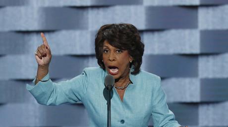 Die US-Kongressabgeordnete der Demokraten, Maxine Waters.
