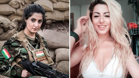 23-jährige Blondine tötet 100 IS-Kämpfer