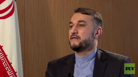 Hossein Amir-Abdollahin, ehemaligs stellvertretender Außenminister des Iran und heute Assistent des Parlamentsvorsitzenden.