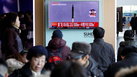 Nordkorea startet ballistische Rakete in Richtung Japanisches Meer
