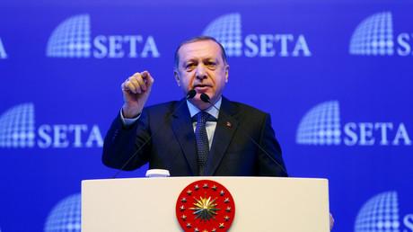 Recep Tayyip Erdoğan: Das Ziel der türkischen Armee ist es, das Grenzgebiet vom IS zu befreien