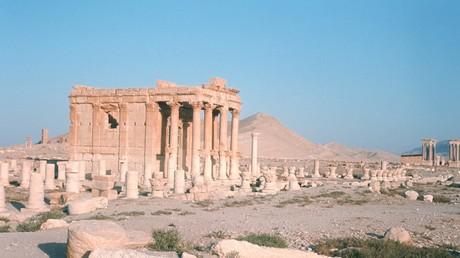 IS-Kämpfer wollen den Rest von Denkmälern in Palmyra in die Luft sprengen