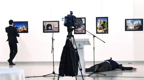 Bild von Mord an russischen Botschafter in Ankara gewinnt World-Press-Photo-Wettbewerb