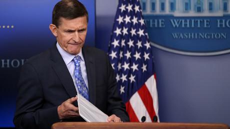 Schmerzlicher Abgang für Trump: Der Nationale Sicherheitsberater Michael Flynn räumt seinen Posten.