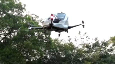 Die Zukunft ist schon da: Dubai testet Taxi-Drohnen – Ab Juli 2017 im Einsatz